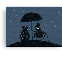 Bugs in the Rain Canvas Print