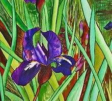 Dipped In Velvet Purple, Surrounds by GREENS by Nira Dabush