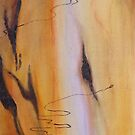Scribbly Gum Tryptch I by Marilyn Brown