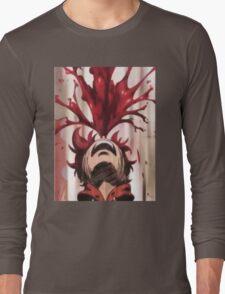 Punchline Blood Shoot Yuta Long Sleeve T-Shirt