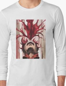 Punchline Blood Shoot Yuta Long Sleeve T-Shirt