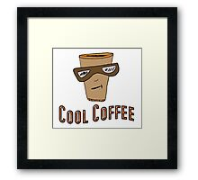 Cool Coffee Framed Print