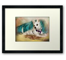 Miss Maggie May - 5 Mos. Old Framed Print