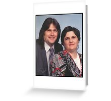 19 years ago... we were wed!  Greeting Card