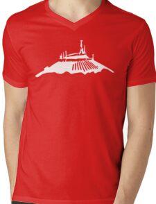Space Mountain Icon Mens V-Neck T-Shirt