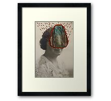 Forest Woman Framed Print