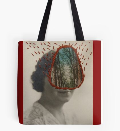 Forest Woman Tote Bag