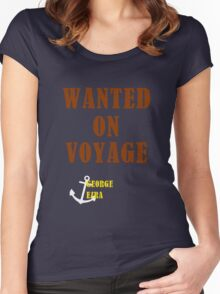 Wanted On Voyage Women's Fitted Scoop T-Shirt