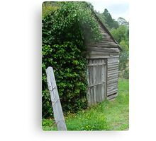 Old Shed,Main Road,Walhalla Metal Print