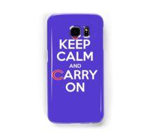 Keep Calm Carry On Cubs Samsung Galaxy Case/Skin
