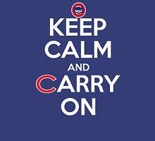 Keep Calm Carry On Cubs Unisex T-Shirt