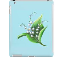 Lilies of the Valley flowers iPad Case/Skin