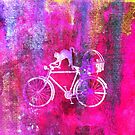 Cat and Bicycle W by Vitta
