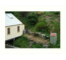 Outhouse,Walhalla Art Print