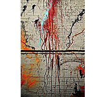Spew wall Photographic Print