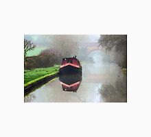 Foggy day on the Canal. Unisex T-Shirt