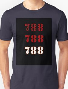 H.I.S.S. Numbers sticker alternative Unisex T-Shirt