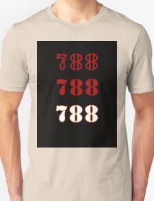 H.I.S.S. Numbers sticker alternative Unisex T-Shirt