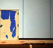 The peeling door by Silvia Ganora