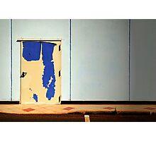 The peeling door Photographic Print