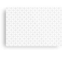 Kingdom Hearts logos pattern white Metal Print