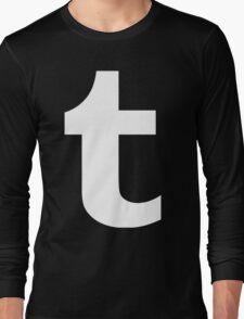 Tumblr Logo Long Sleeve T-Shirt