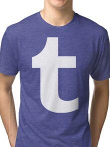 Tumblr Logo Tri-blend T-Shirt