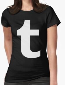 Tumblr Logo Womens Fitted T-Shirt