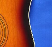 guitar shape  by Darsha Gillmore