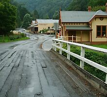 """S"" Bends, Walhalla,Gippsland by Joe Mortelliti"