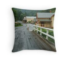 """S"" Bends, Walhalla,Gippsland Throw Pillow"