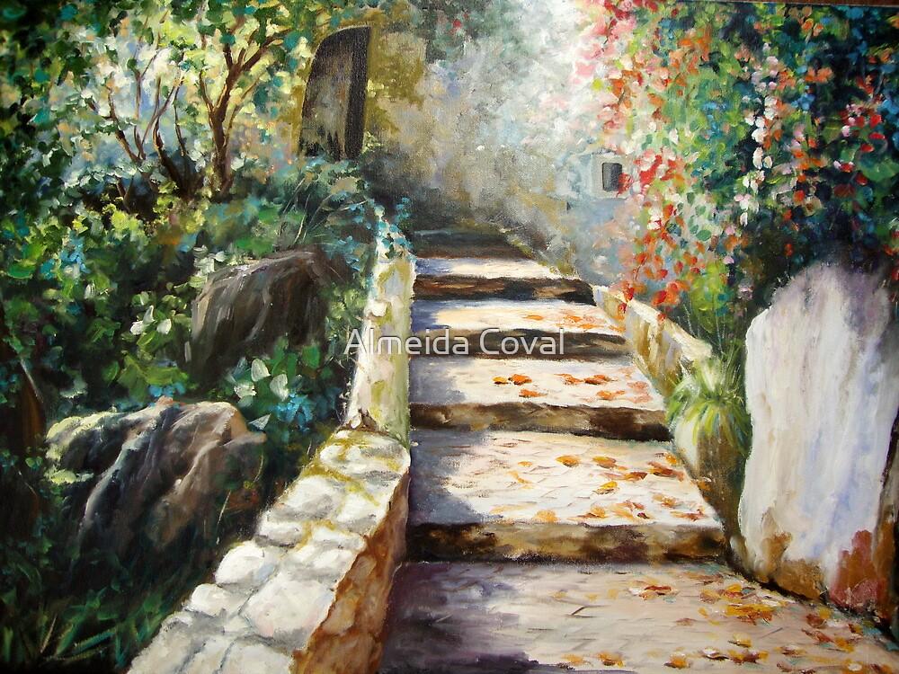 the steps of the trinity..sintra.. by Almeida Coval