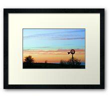 Pastel on the Plains Framed Print
