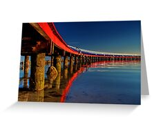 """Boardwalk Reflections"" Greeting Card"
