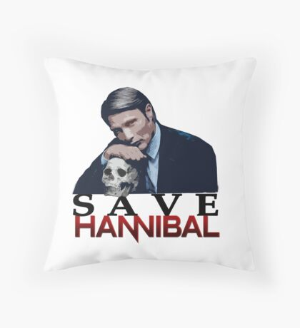 Save Hannibal Throw Pillow