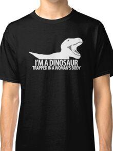 """Dinosaur on the inside"" lighter edit Classic T-Shirt"