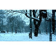 Wet Snow of Gothenburg Photographic Print