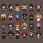 pixel peoples by iamnotadoll