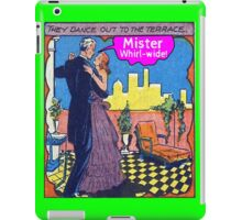 Mister Whirl -Wide! iPad Case/Skin