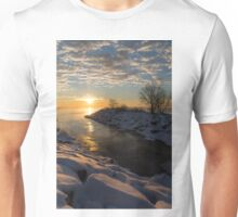 Sunshine on the Ice - Lake Ontario, Toronto, Canada Unisex T-Shirt