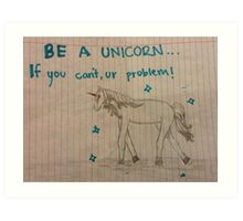 Unicorns Art Print