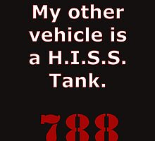 My other vehicle is a H.I.S.S. Tank Version 2 by REDROCKETDINER