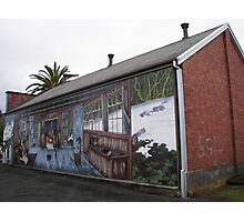 Murals at Sheffield Photographic Print