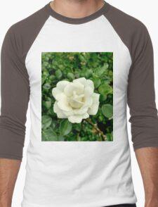 White Rose Men's Baseball ¾ T-Shirt