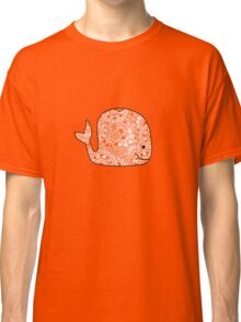 Whale: Orange  Classic T-Shirt