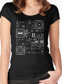 Maxwell's Equations Women's Fitted Scoop T-Shirt