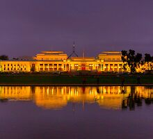 The House - Old Parliament House, Canberra Australia - The HDR Experience by Philip Johnson