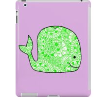 Whale: Green iPad Case/Skin