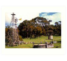 Rural Oz Art Print