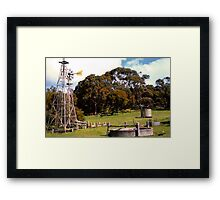 Rural Oz Framed Print